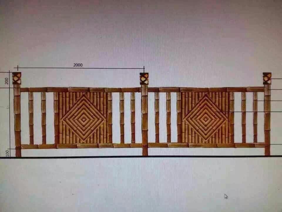 水泥艺术围栏,广州仿木栏杆