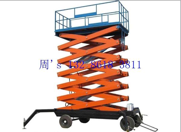升降机厂家车用装卸液压升降机的用途图片
