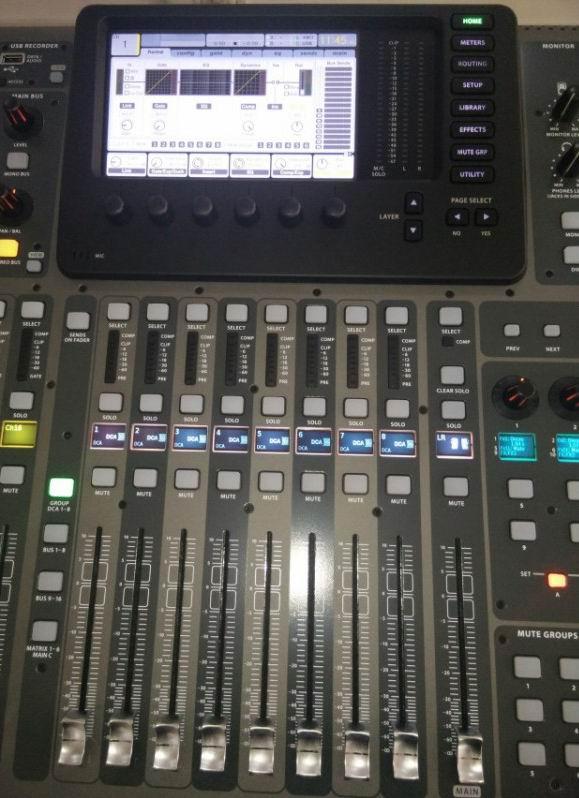 百灵达 x32 数字调音台