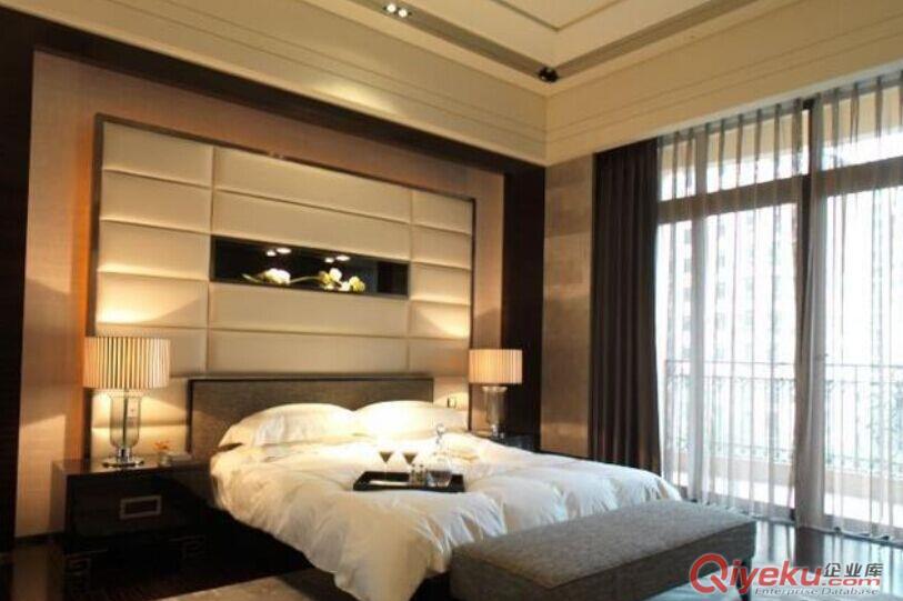 酒店客房软包定做、酒店床头定做厂家、酒店床屏背景厂家