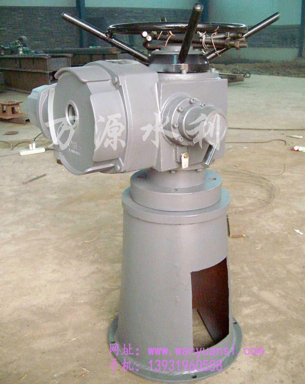 QLB型手轮式螺杆启闭机 泥水工机械设备产品图片由新河县万源水利