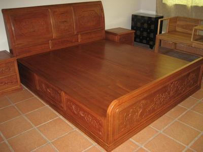 红木家具大床图片|红木家具大床产品图片由广州市