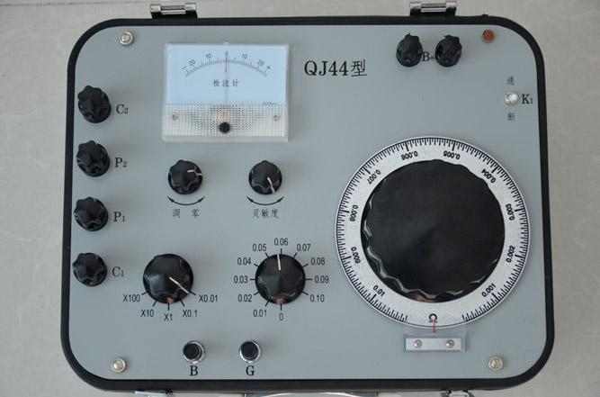 qj44型直流电阻电桥