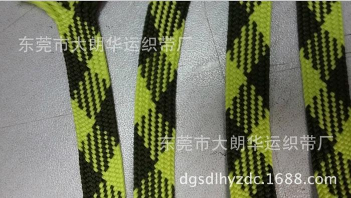 东莞【工厂生产】 12mm单层黄色间黑色扁带