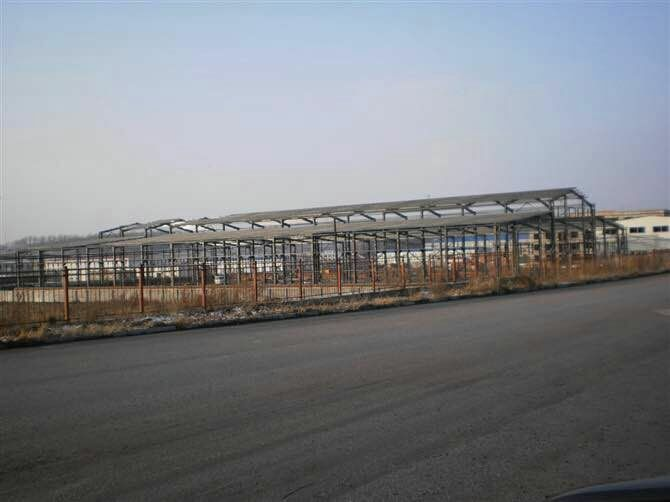 生産鋼結構車間廠房/撫順恒興金屬容器