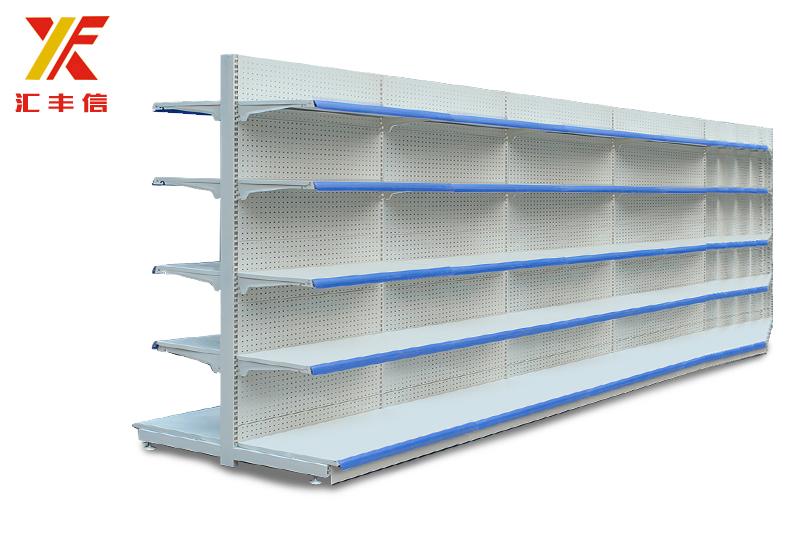 山东青岛超市货架批发开超市需要的设备青岛汇丰信超市设备批发图片