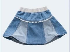 物超所值牛仔短裙女童推荐,昌平夏季短裙童装