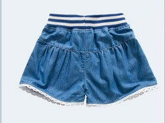 在佛山怎么买物美价廉牛仔短裙童装  安徽女童装半身裙