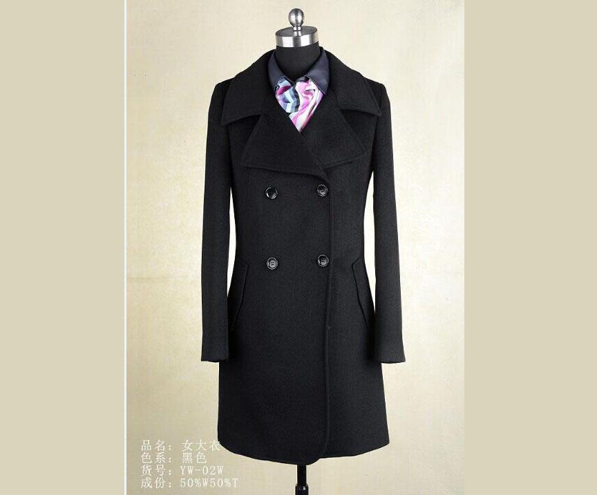 广西职业女装专业批发 2015新款女装大衣G2定制