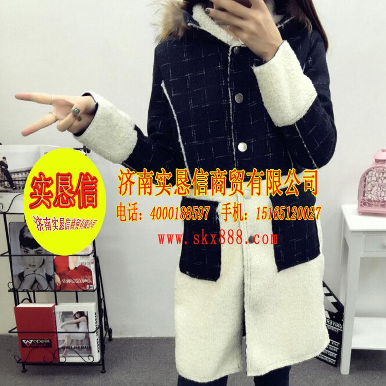 内蒙古大码女装 想要信誉好的毛呢外套,就找实恳信商贸公司