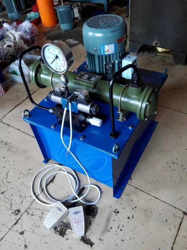 48v电动液压泵厂家 德州48v电动液压泵厂家 海天供(图)图片