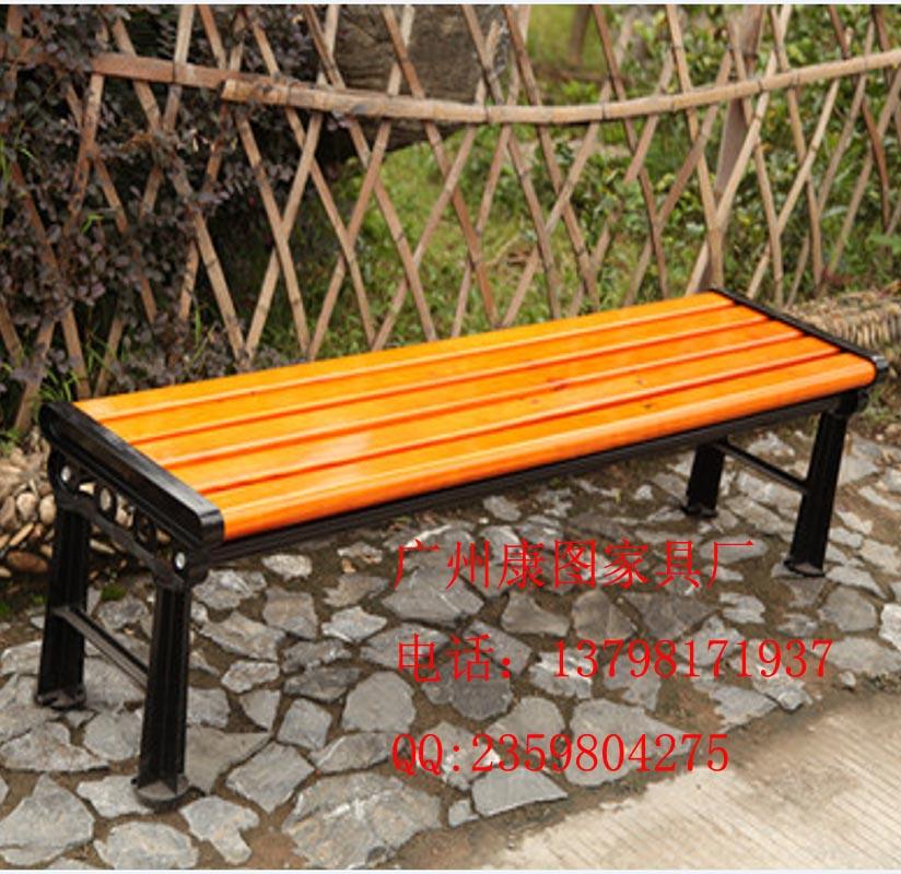 供应钢木休闲椅,园林座椅,户外休闲椅(图)