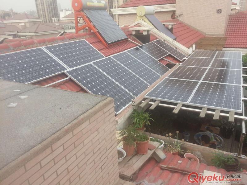 10kw家庭户用太阳能并网发电系统】