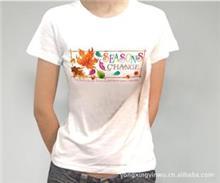 女士T恤烫画