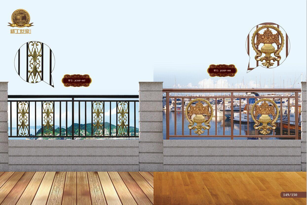 青岛楼梯扶手 青岛欧式铁艺大门 青岛窗口护栏 青岛富豪铁艺(图)