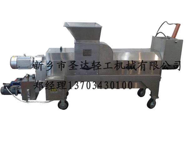 生产单螺旋压榨机 专业SDG-1.5单螺旋压榨机推荐