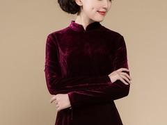 冬季女装好身材旗袍专业定制 新版冬装旗袍礼服