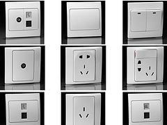 优质的开关插座:高性价开关插座大同口碑好的公司供应
