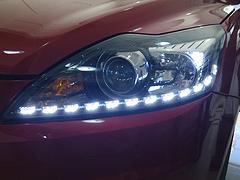 经典福克斯改装大灯透镜加装氙气灯LED价格范围 供应福州地区优质氙气灯LED
