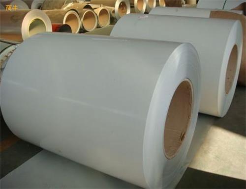 宝钢高耐候聚酯彩涂板 TDC51D宝钢彩钢板 使用年限15年以上