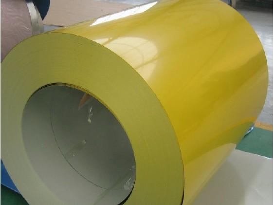 寶鋼黃石TDC51D+AZ180高耐候自潔功能彩涂板寶鋼黃石彩涂板0.6*1200