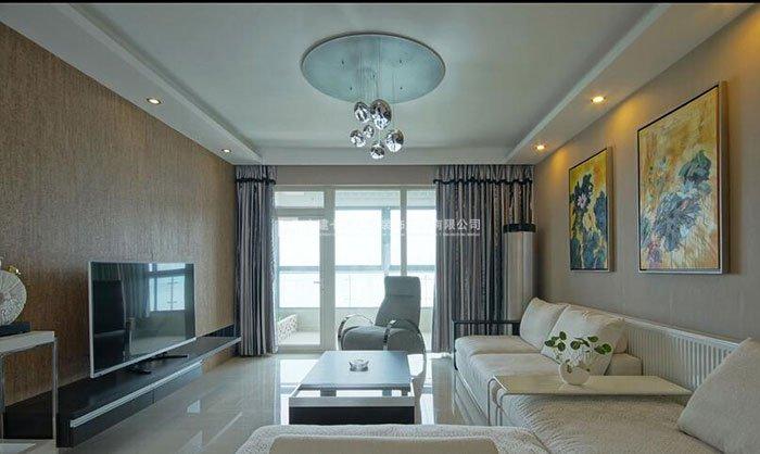 现代简约风格客厅装修效果图100例
