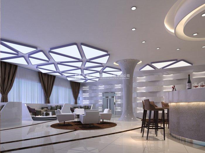 宏光新天地售樓部現代簡約風格裝修設計效果圖