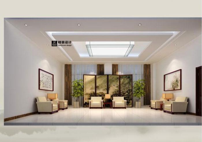 周口行政中心室内装饰设计效果图