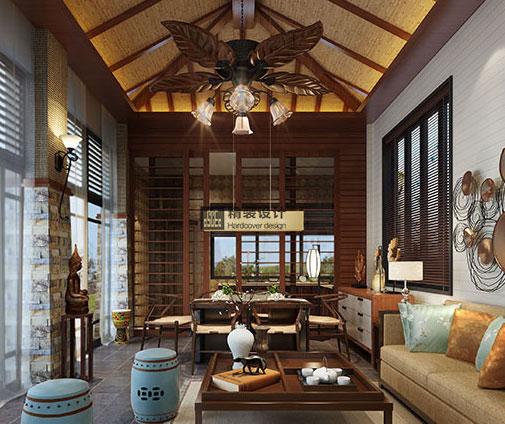 海南五指山美式风格装修设计效果图图片