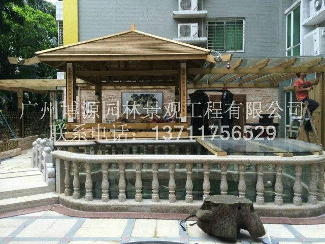 木结构房屋图片|木结构房屋产品图片由广州博源园林-.