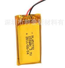 18650锂电池厂家 3.7V 210mAh 锂电池 锂聚合物电池 蓝牙充电电池
