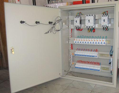 应急照明强启配电箱接线图
