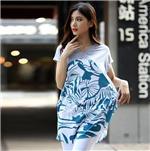 宽松短袖t恤女2015新款夏装潮韩版大码女装胖mm半袖蝙蝠衫t恤