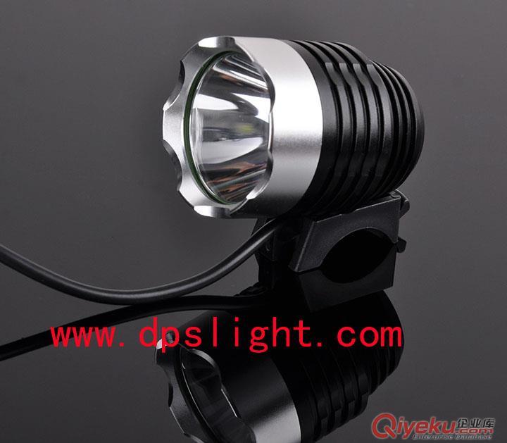 迪普思厂家批发T6强光充电自行车车灯前灯 大容量