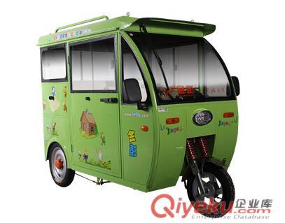 金彭鸿途2bl1电动客车 全封闭载客电动车 老年代步车电池配件,电动