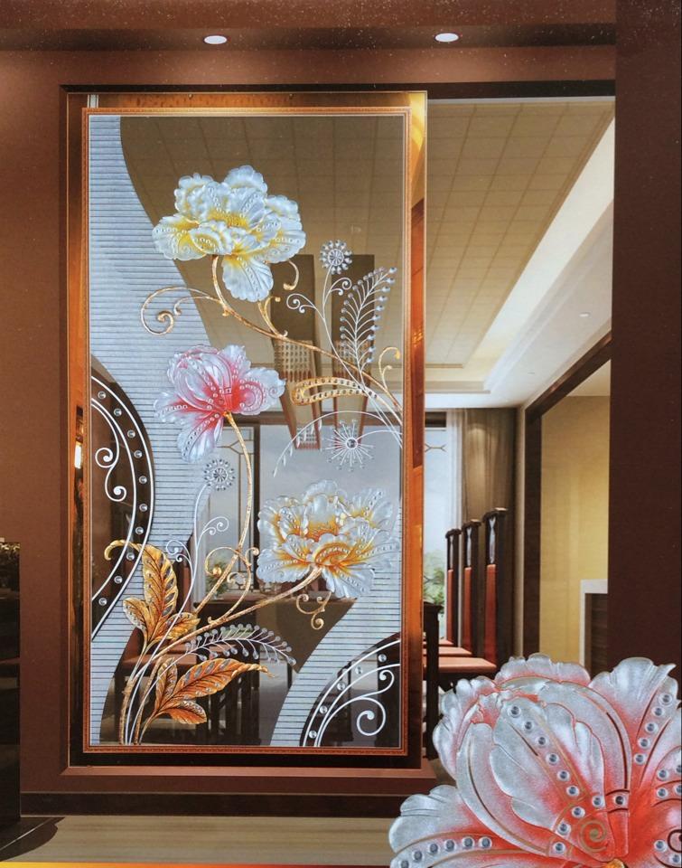 背景墙玻璃