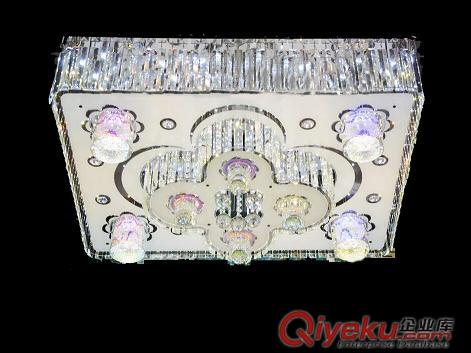 国庆热销好卖低压灯,中秋佳节特价水晶客厅灯,双色款平板灯批发