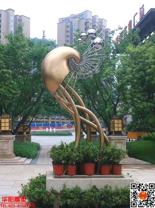 小区雕塑设计 地产雕塑图片由重庆华阳景观雕塑设计工程有限公司提供